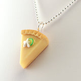 Scented Key Lime Pie Necklace - Tiny Hands  - 3