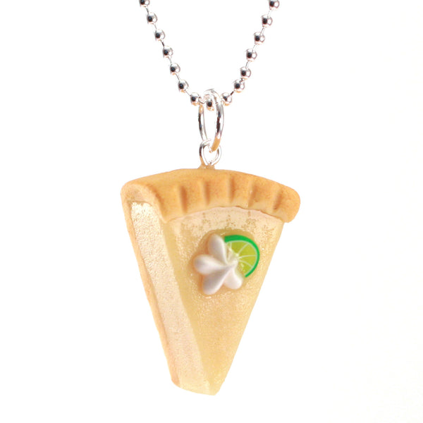 Scented Key Lime Pie Necklace - Tiny Hands  - 1