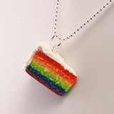 Scented Rainbow Cake Necklace - Tiny Hands  - 2