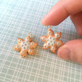 Scented Snowflake Cookie Necklace - Tiny Hands  - 2