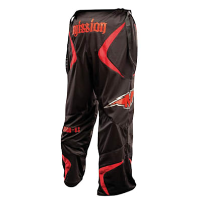 Mission Axiom A3 Pants Sr X-Large Black/Red