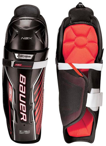 Bauer NSX Shin Guards 14""