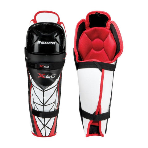 Bauer Vapor X60 Shin Guards Jr 10""