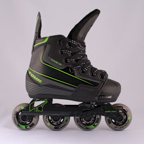Tour Code 9 Adjustable Skates Jr / Yth