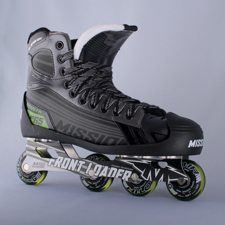 Mission Inhaler Dsg5 Goalie Skates Sr 12 0e Coast To Coast Hockey Shop