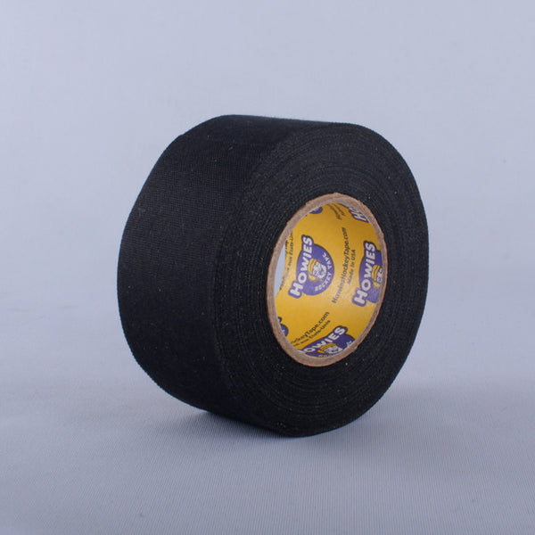 "Howies Cloth Hockey Tape 1.5"" - Black & White (15yd)"