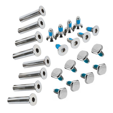 Hi-Lo Mission / Bauer Skate Screw / Axle / Bolt Kit (4 Pack)