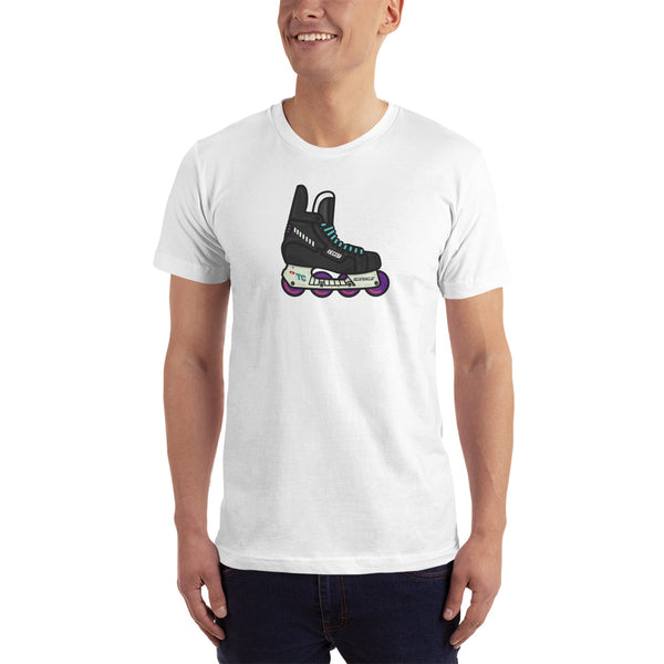 Coast Retro Roller Hockey Skate by Tony Headrick T-Shirt
