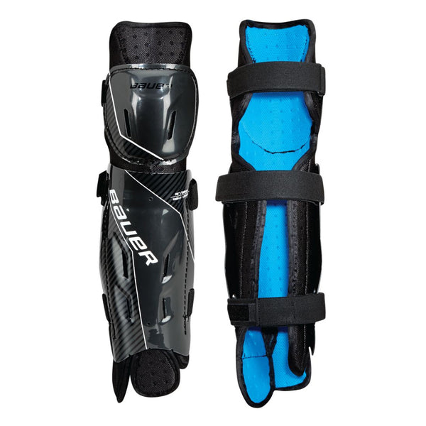 Bauer Performance Ball Hockey Shins Sr / Jr