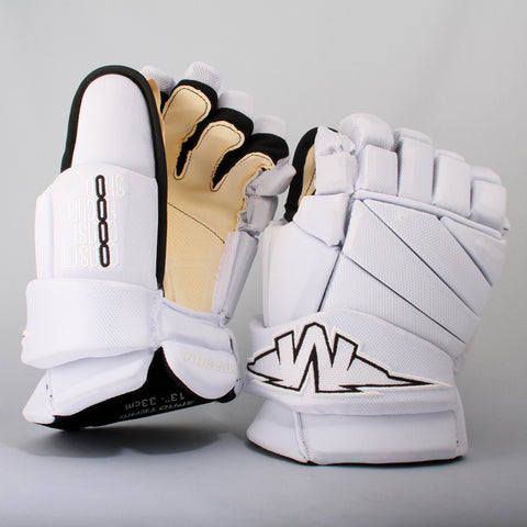 Mission CTCHS Team Pro Glove DS Sr White 12""