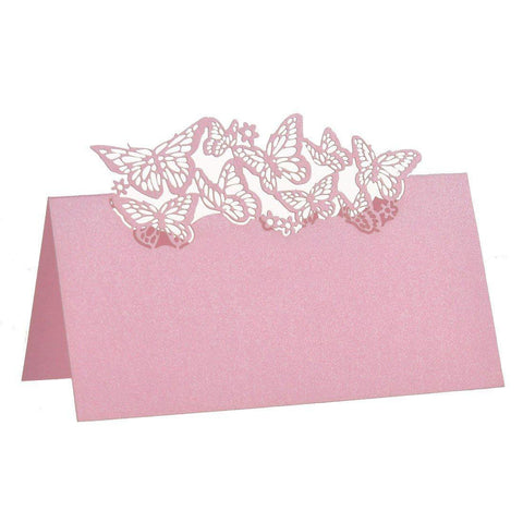 Butterfly Name Place Cards 50 Pcs