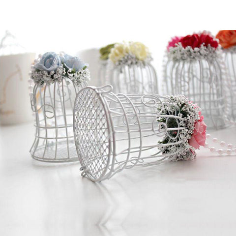 Bird Cage Wedding Favors
