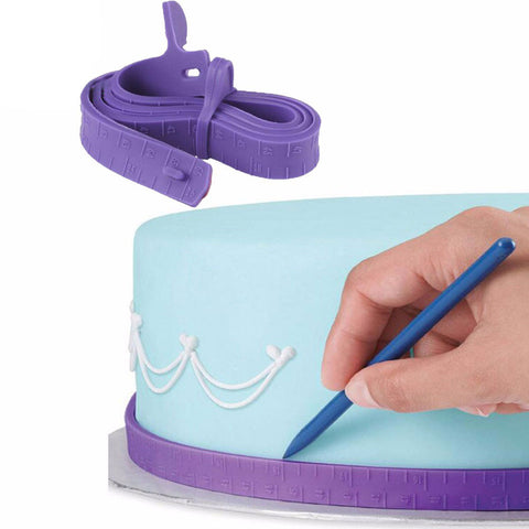 Cake Measuring Tape Set of 2 Pcs
