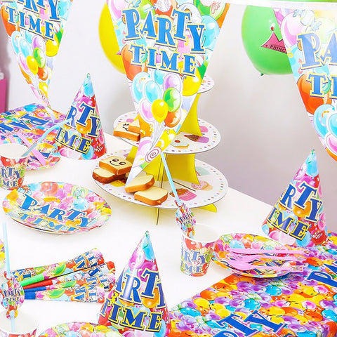 Party Time Decoration 84 Pcs Set