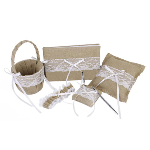 Wedding Accessories Set of 5 Pcs