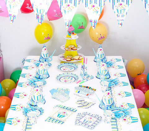 Boys Birthday Party Decoration 84 Pcs Set