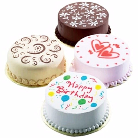 Cake Stencils Variety Pack 4 Pcs