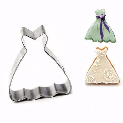 Princess Gown Cookie Cutter