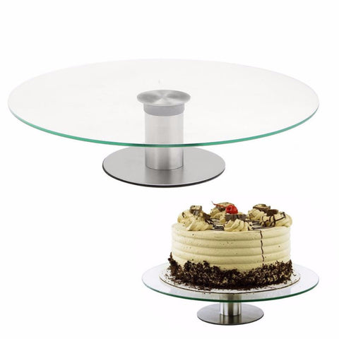 Cake Rotating Stand Platter
