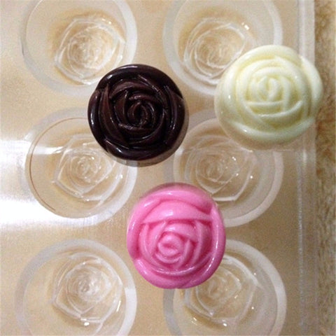 Chocolate Mold Rose