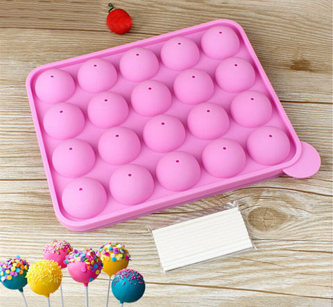 Silicone Cake Pop Mold Set