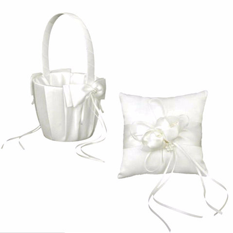 Flower Girl Basket & Ring Bearer Pillow