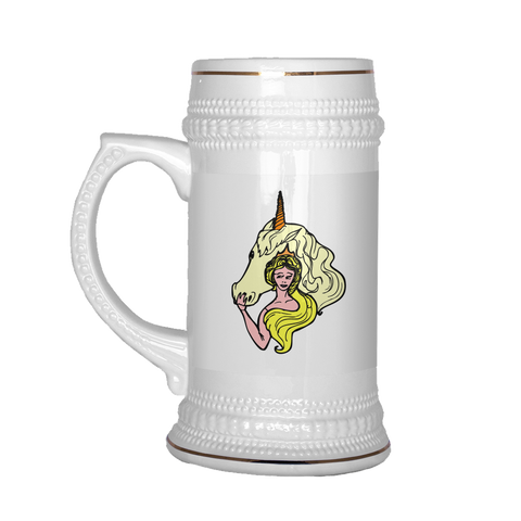 Unicorn Beer Mug