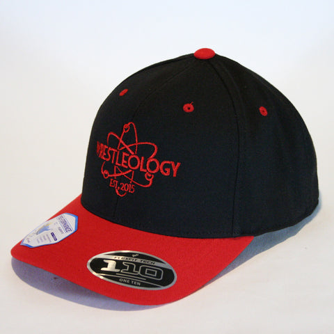 Wrestleology Hat (Black/Red)