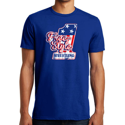Freestyle T-Shirt (Royal Blue)