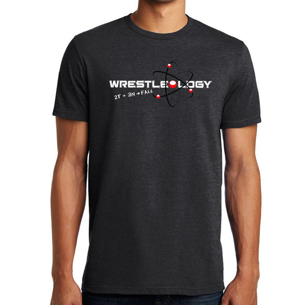 Wrestleology T-Shirt (Heathered Charcoal)
