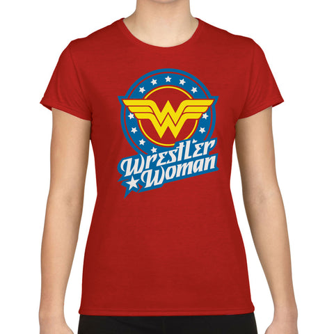 Wrestler Woman T-Shirt