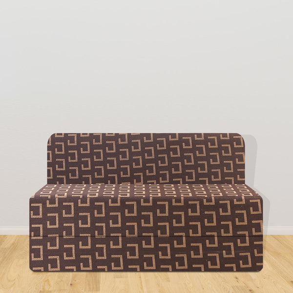 Cotrise Sofa Cum Bed (5' X 6' ft) | Dark Brown