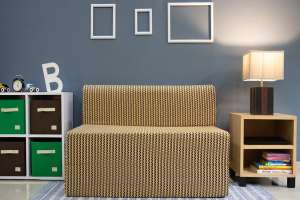 Cotrise Sofa Bed (4' X 6') | Check Brown