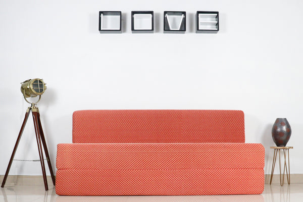 Cotrise Sofa Bed (5' X 6' ft) | Check Red