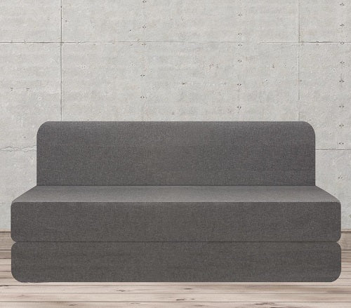 Water Repellent Sofa Bed (6' x 6')  | Midnight Grey