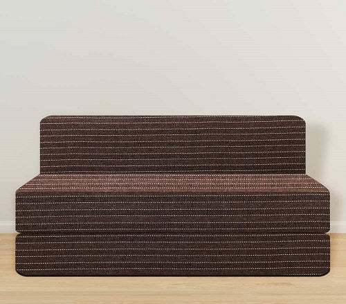 Jute Sofa Bed 5' X 6' | Brown