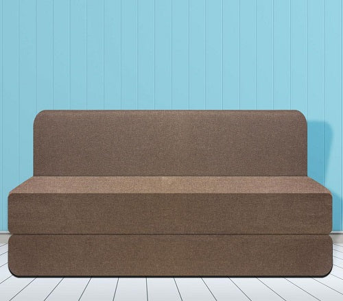 Water Repellent Sofa Bed (6' x 6')  | Roadhouse Brown