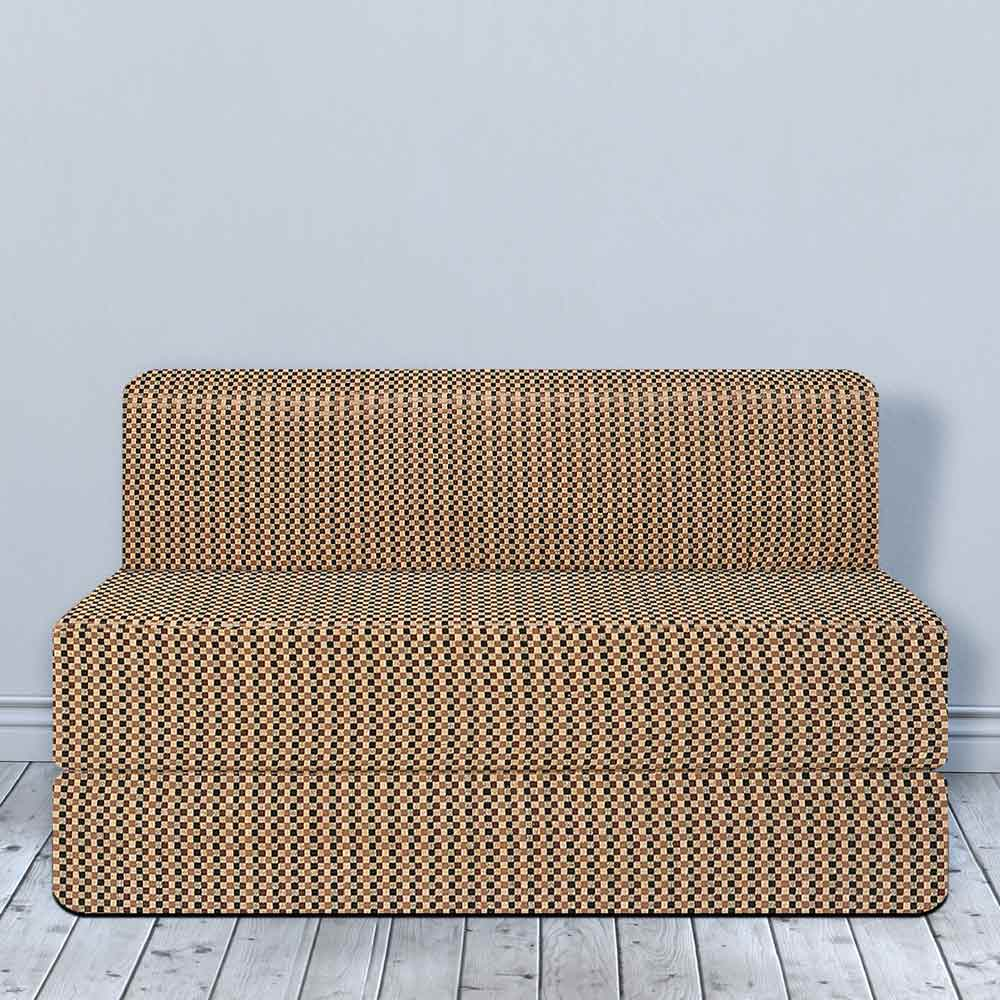 sneakers for cheap 11279 28d7b Cotrise Sofa Bed (5' X 6')   Check Brown
