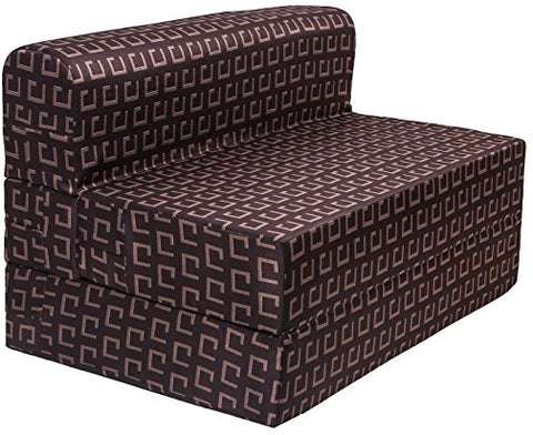 Cotrise Sofa Cum Bed - Dark Brown | 4' X 6' Feet.(SCB-001726-DKBR)