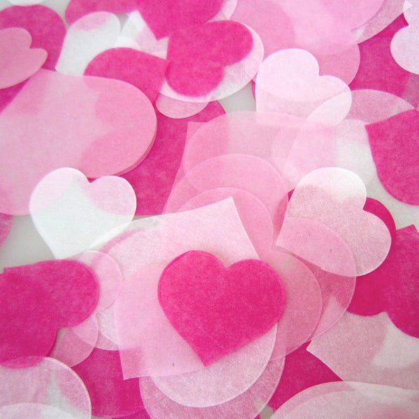 confetti - samples (hearts)