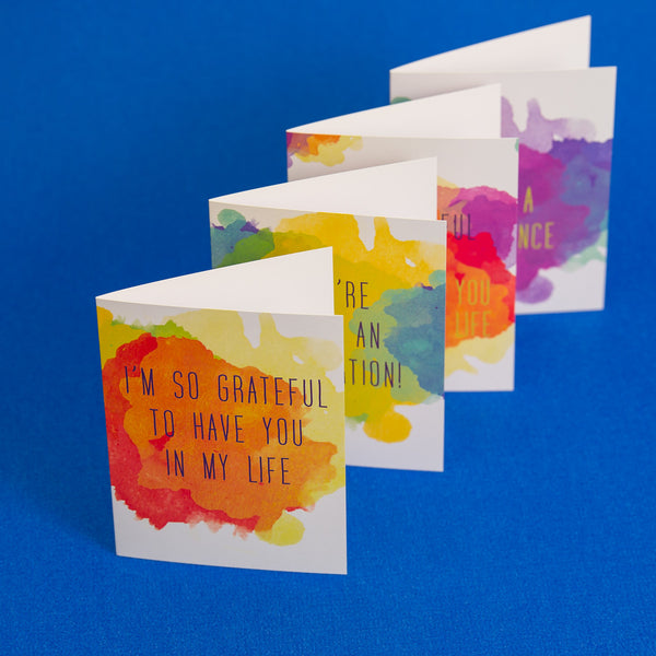 gratitude cards pack