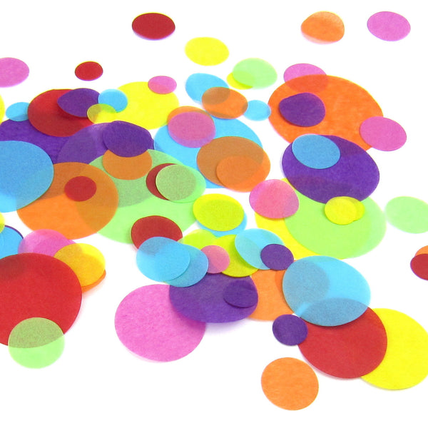 confetti  (5 packs) - choose your own colours