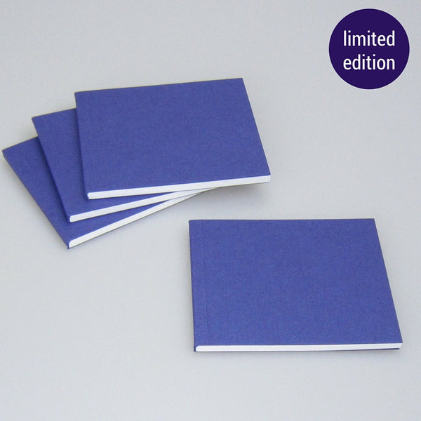 metallic blue notebook – limited edition