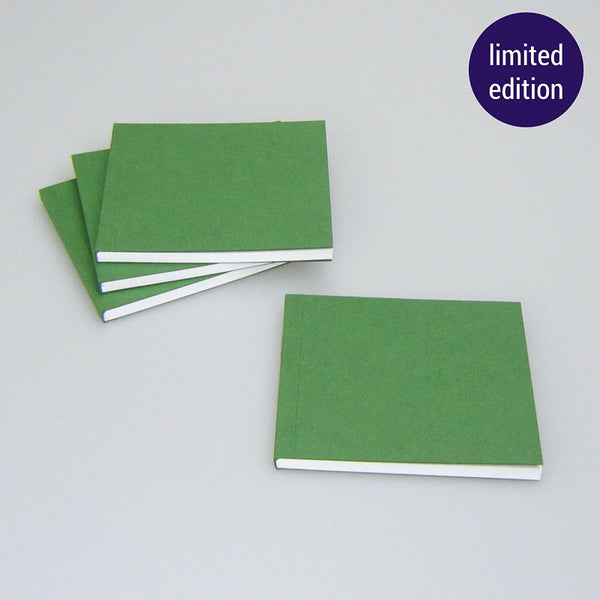 metallic green notebook – limited edition