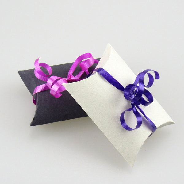 coloured paper mini pillow boxes (mixed packs)