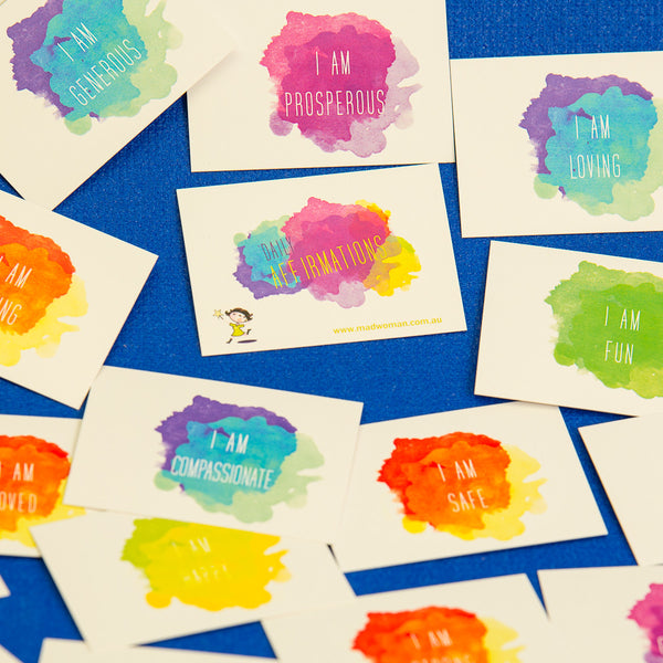 how to use affirmation cards
