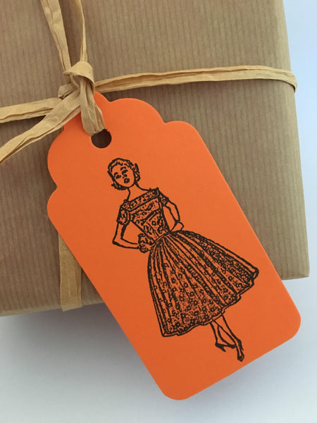 retro gift tags (set 2)