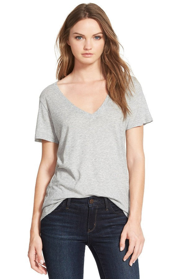The Kiara V Neck Tee - AG
