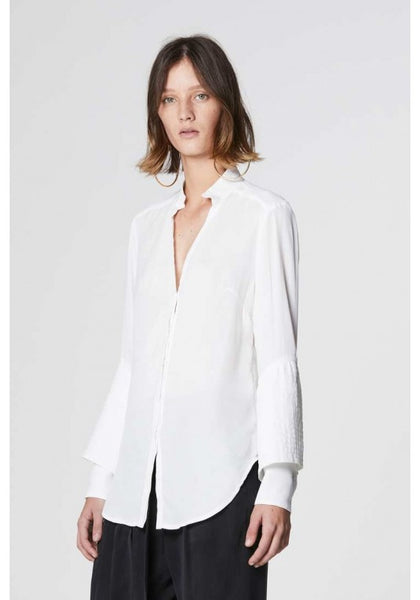 Alida Double cuff Shirt - ONCE WAS