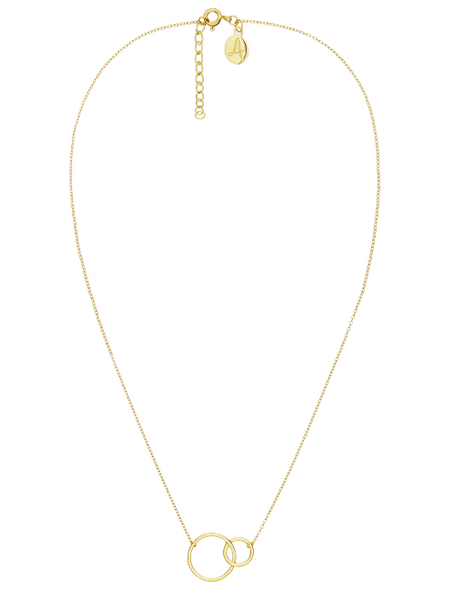 Fine Collection Necklace- Double Circle